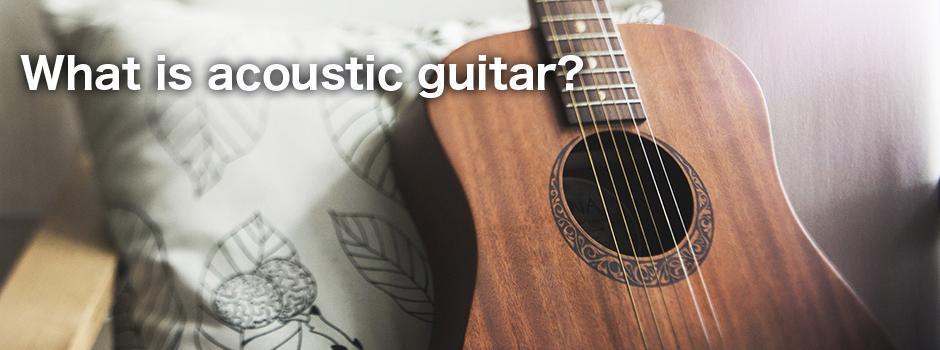 アコースティックギターとは?
